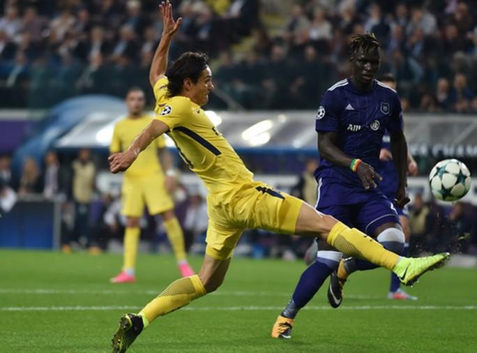 Neymar, Cavani cùng tỏa sáng, PSG đại thắng trên đất Bỉ - Ảnh 3.