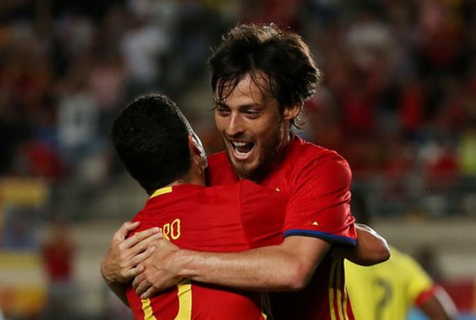 Tây Ban Nha nhọc nhằn hòa Colombia, Uruguay thua thảm trước Ý - Ảnh 2.