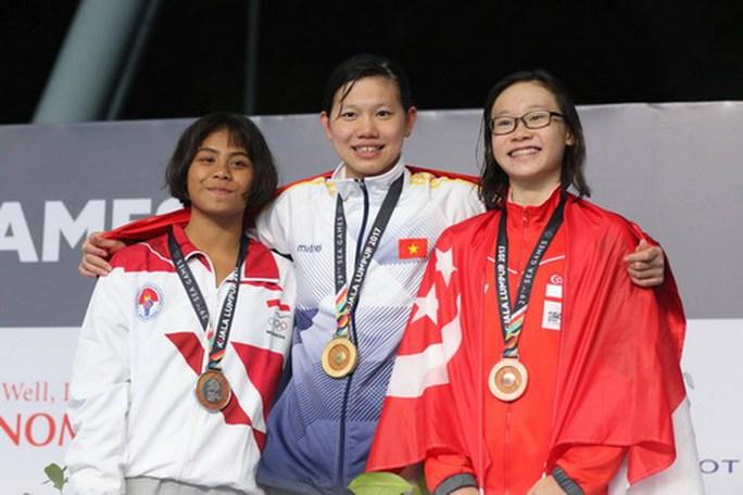 SEA Games ngày 25-8: Kình ngư 15 tuổi Kim Sơn tạo 2 cú sốc - Ảnh 5.