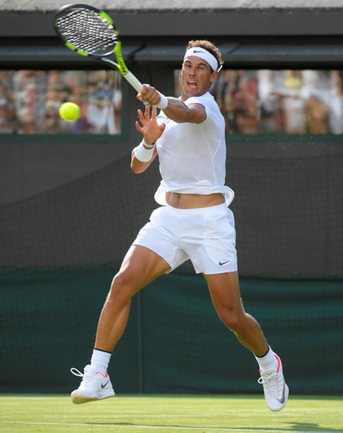 Stan Wawrinka thua bẽ mặt, Nadal thắng trận mở màn Wimbledon - Ảnh 7.