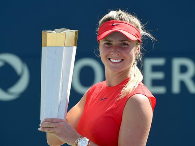 Svitolina có danh hiệu thứ 5 từ đầu năm 2017