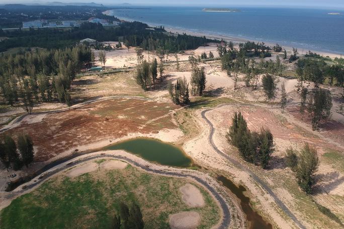 Nhiều sai phạm ở dự án Phá rừng làm sân golf - Ảnh 1.