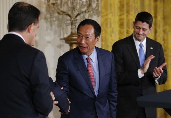 Công ty Đài Loan đầu tư khủng vào Mỹ, ông Donald Trump vui mừng - Ảnh 1.