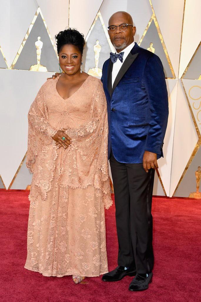 Vợ chồng ngôi sao Samuel L Jackson