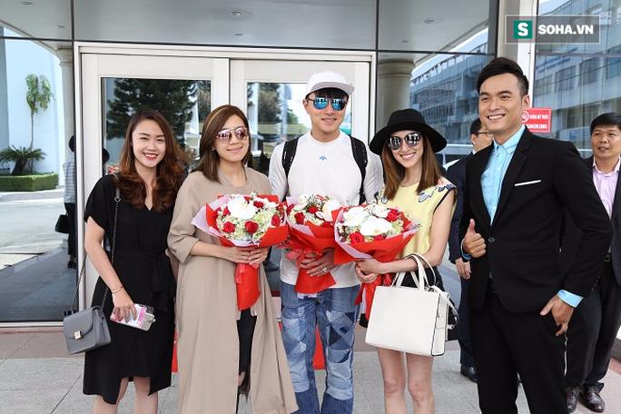 Cả 3 diễn viên đến để giao lưu với khán giả Việt