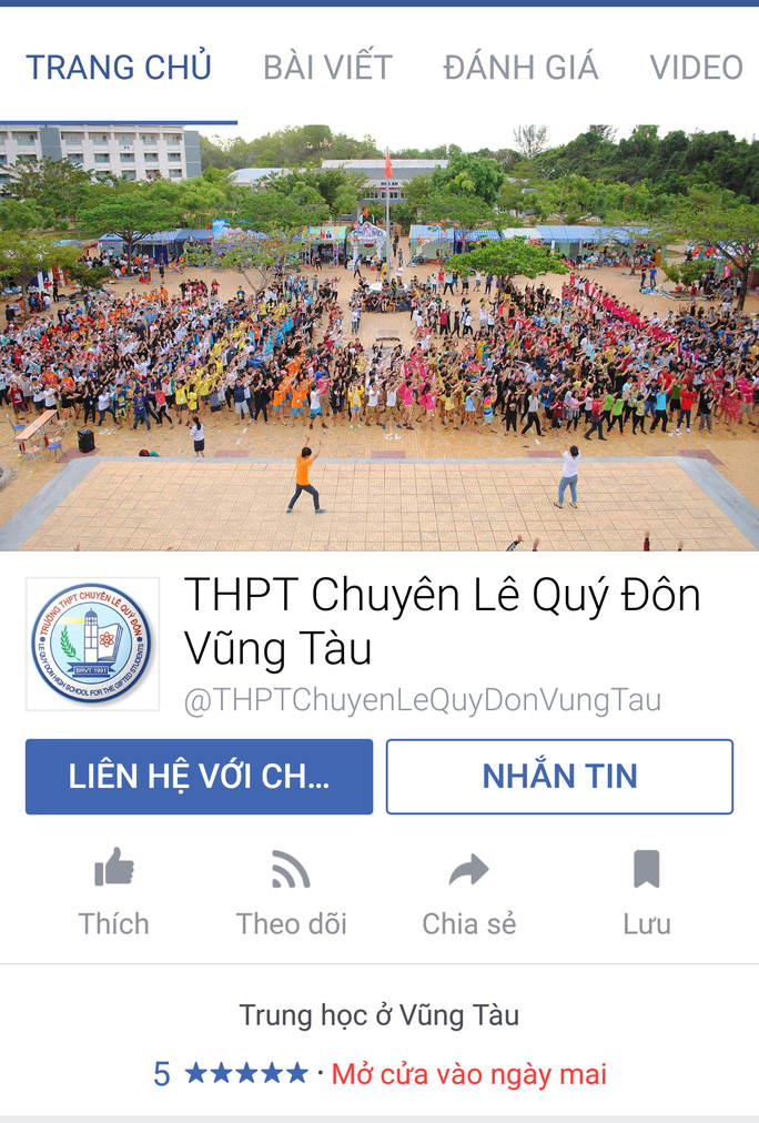 Giả Facebook trường THPT để đăng tải nội dung phản động - Ảnh 2.