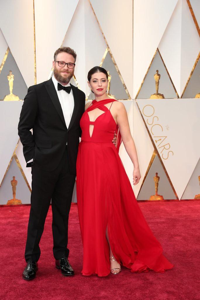 Vợ chồng ngôi sao Seth Rogen