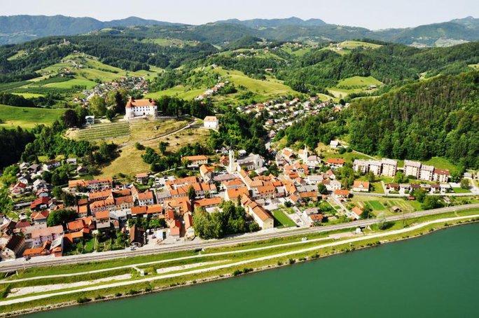 Thị trấn Sevnica- quê nhà của Đệ nhất phu nhân Malania Trump ở Slovenia. Ảnh: Sevnica municipality