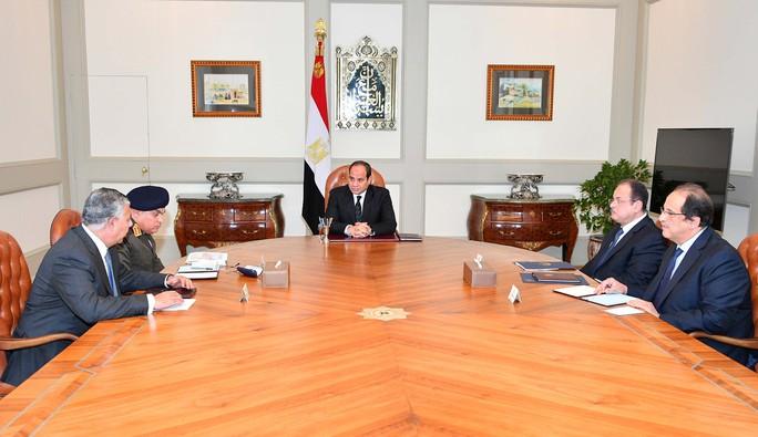 Ai Cập không kích khủng bố trả đũa vụ thảm sát - Ảnh 1.
