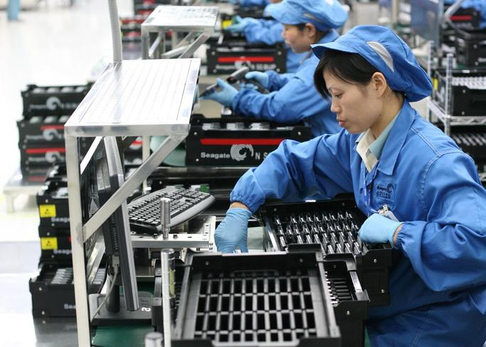 Seagate là một trong những doanh nghiệp nước ngoài tháo chạy khỏi thị trường Trung Quốc Ảnh: Port Strategy