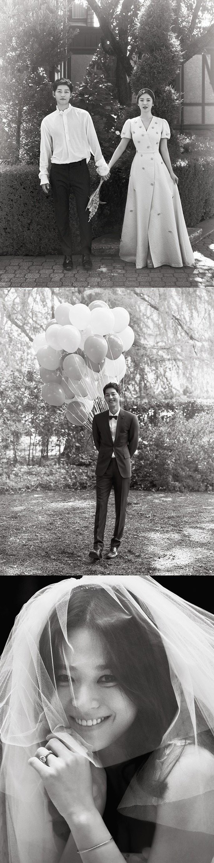 Song Hye Kyo và Song Joong Ki khoe ảnh cưới - Ảnh 2.