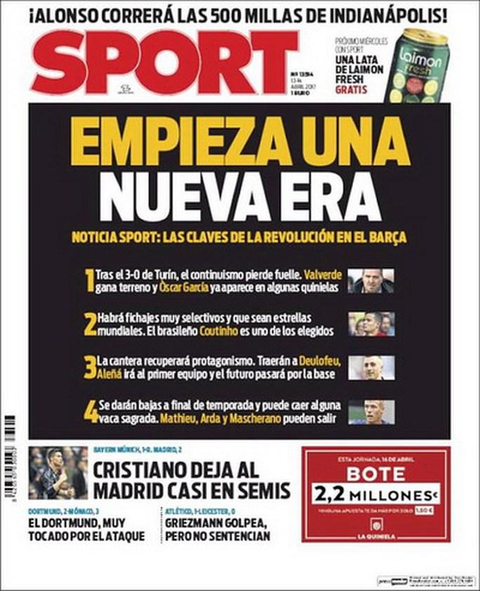 Tạp chí thân Barcelona tiết lộ kế hoạch chuyển nhượng mùa hè