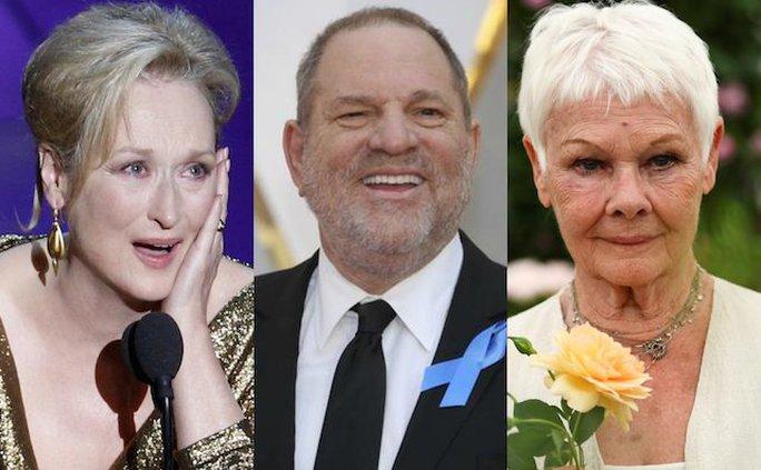 Meryl Streep, Judi Dench xấu hổ vì ông trùm Hollywood quấy rối tình dục - Ảnh 2.
