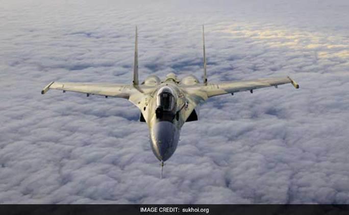 Máy bay chiến đấu Sukhoi Su-35. Ảnh: Sukhoi.org