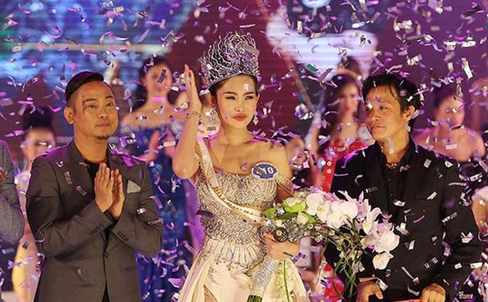 Đặng Thu Thảo trả lại vương miện Hoa hậu Đại dương - Ảnh 3.