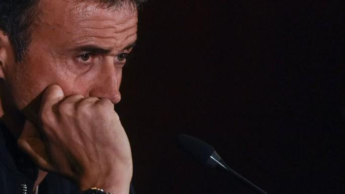 Enrique xác nhận chia tay Barcelona