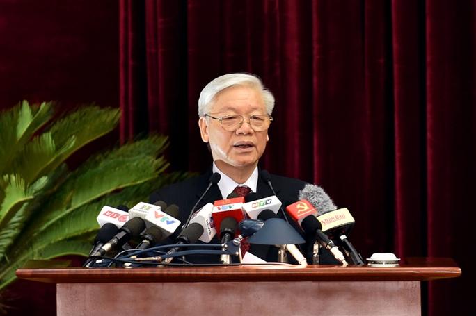 Tổng Bí thư Nguyễn Phú Trọng phát biểu khai mạc Hội nghị Trung ương 5