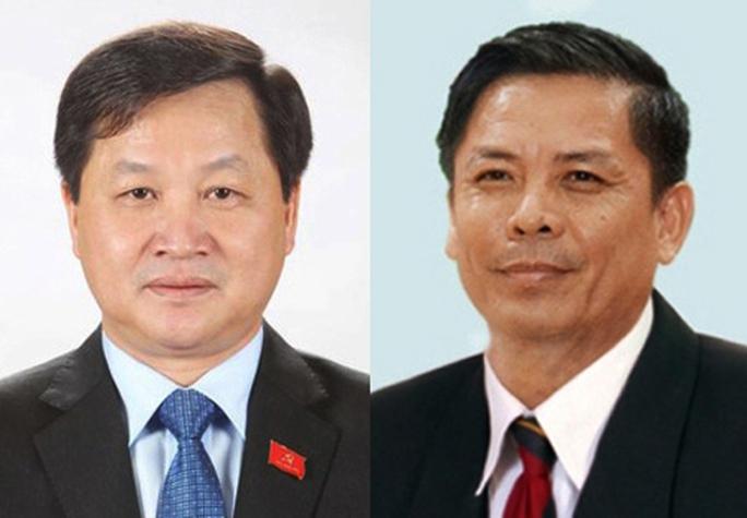 Giới thiệu ông Lê Minh Khái, Nguyễn Văn Thể làm Tổng TTCP và Bộ trưởng GTVT - Ảnh 2.