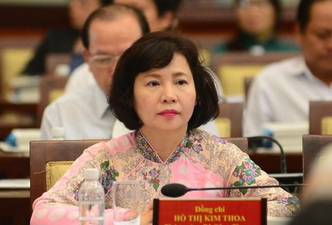 Ban Bí thư miễn nhiệm Thứ trưởng Hồ Thị Kim Thoa - Ảnh 1.