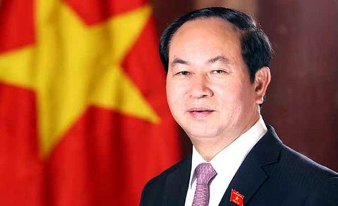 Chủ tịch nước Trần Đại Quang sẽ thăm Trung Quốc - Ảnh 1.