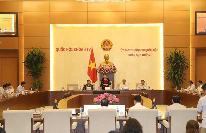 Tổng thư ký QH nói lý do báo chí chỉ được dự 5 phút họp Thường vụ QH - Ảnh 1.