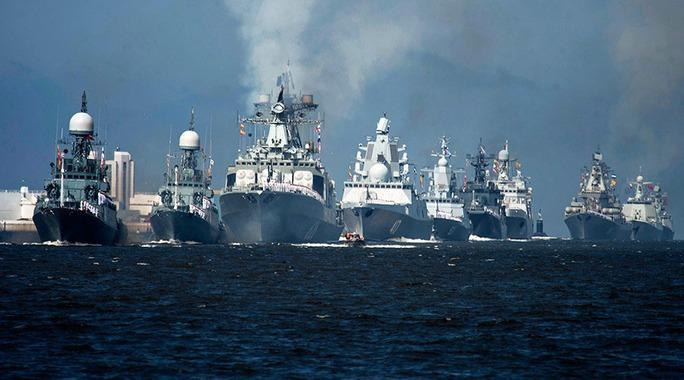 Hải quân Nga phô trương sức mạnh - Ảnh 1.