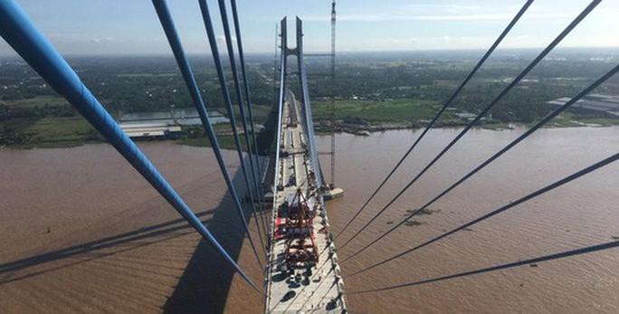Bộ Giao thông vận tải lên tiếng vụ nứt dầm cầu Vàm Cống - Ảnh 1.