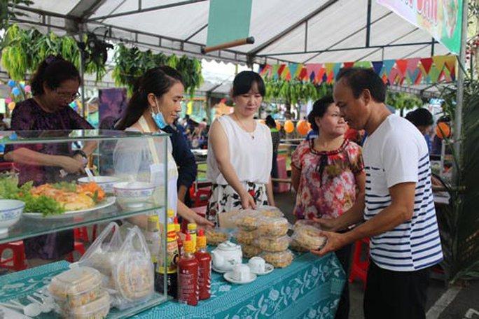 62 gian hàng tham gia liên hoan văn hóa ẩm thực - Ảnh 1.