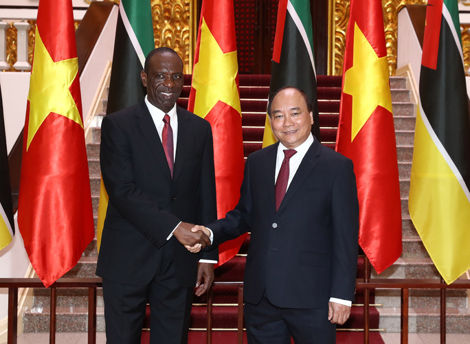 Việt Nam - Mozambique phát triển quan hệ tốt đẹp - Ảnh 1.