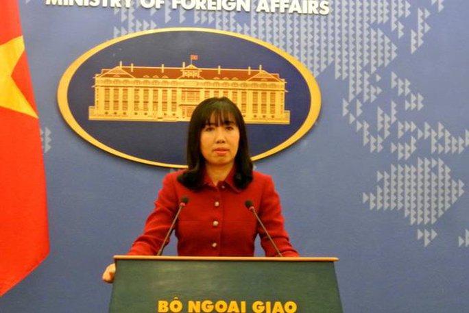 Việt Nam phản ứng trước phát biểu của Tổng thống Hàn Quốc - Ảnh 1.