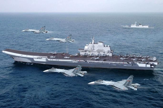 Tàu sân bay Liêu Ninh của Trung Quốc. Ảnh: SOUTH FRONT