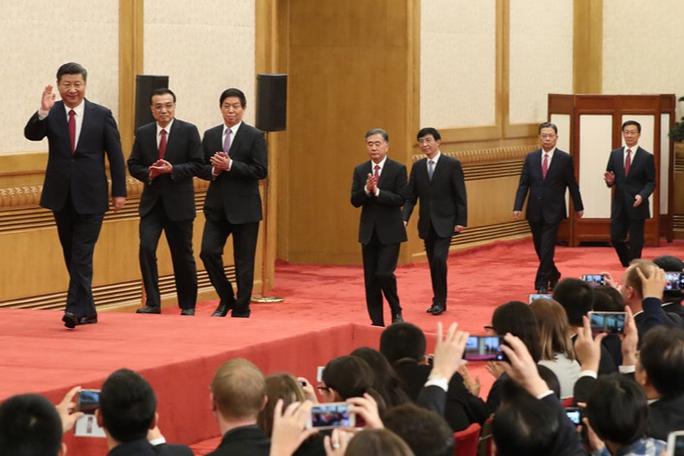 Thấy gì qua Ban Thường vụ Bộ Chính trị Trung Quốc khóa mới? - Ảnh 1.
