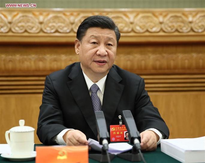 Trung Quốc: Tư tưởng Tập Cận Bình được đưa vào điều lệ đảng - Ảnh 2.