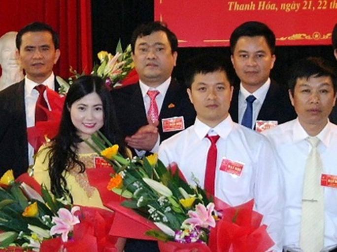 Bà Trần Vũ Quỳnh Anh được bầu vào Ban chấp hành đảng bộ Sở Xây dựng tỉnh Thanh Hóa nhiệm kỳ 2015-2020 - Ảnh: TNO