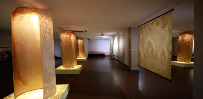 Triển lãm nghệ thuật trúc chỉ lần đầu tiên ở Đà Nẵng - Ảnh 1.