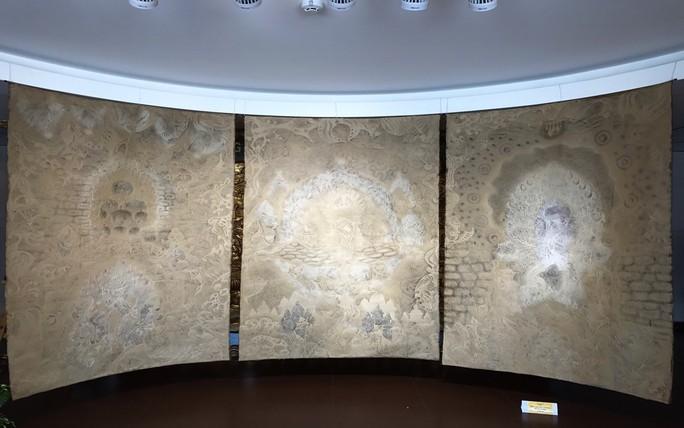 Triển lãm nghệ thuật trúc chỉ lần đầu tiên ở Đà Nẵng - Ảnh 2.