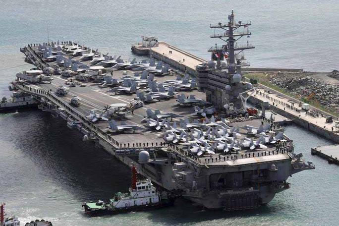 Mỹ tung vũ khí chiến lược chống Triều Tiên - Ảnh 1.