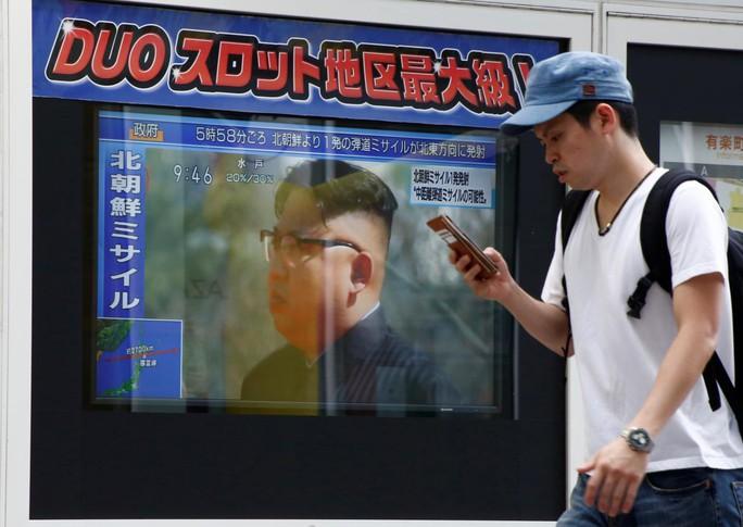 Triều Tiên tập dượt cho kế hoạch bắn tên lửa tới Guam? - Ảnh 1.