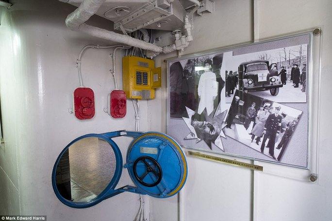 Bên trong tàu Hải quân Mỹ bị Triều Tiên bắt giữ 50 năm trước - Ảnh 6.