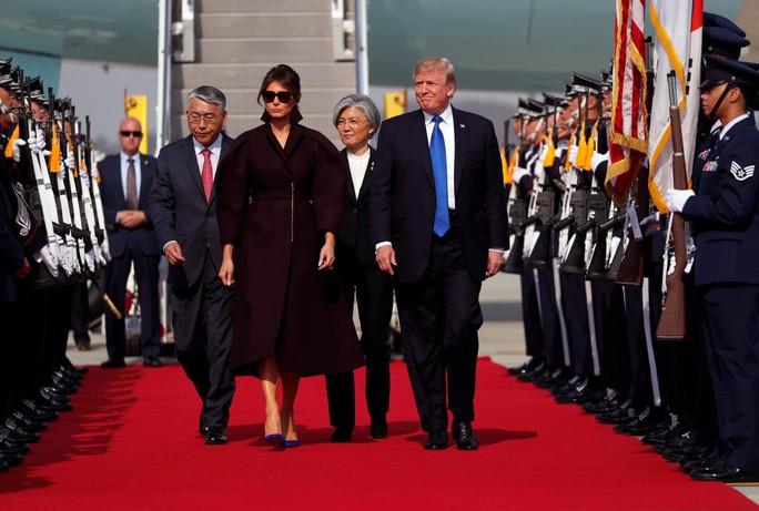 Hàn Quốc thắt chặt an ninh đón Tổng thống Donald Trump - Ảnh 1.