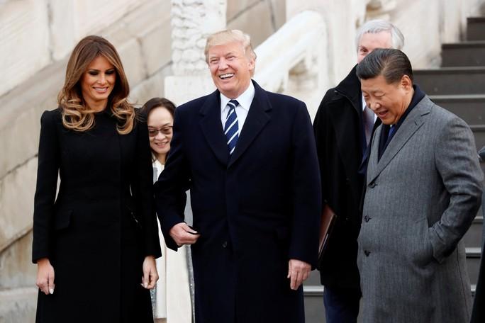 Trung Quốc đón chào Tổng thống Donald Trump - Ảnh 5.
