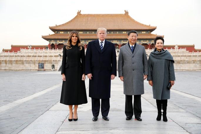 Trung Quốc đón chào Tổng thống Donald Trump - Ảnh 6.