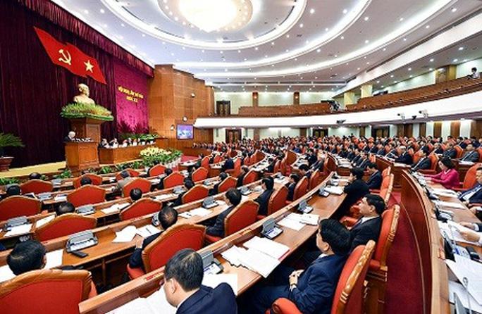 Chủ tịch QH Nguyễn Thị Kim Ngân điều hành phiên họp Hội nghị Trung ương - Ảnh 1.