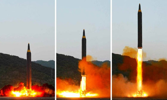 Triều Tiên nói vụ thử tên lửa mới thành công - Ảnh 1.