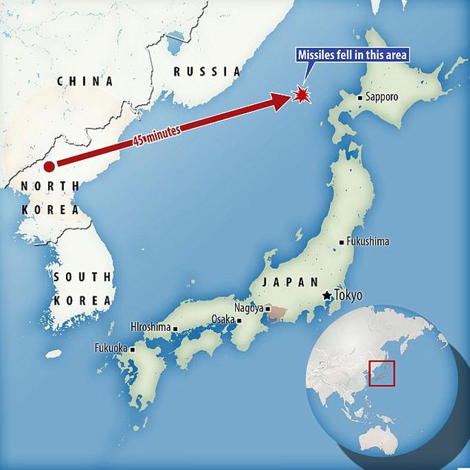 Điểm lạ nhất trong vụ thử tên lửa Triều Tiên  - Ảnh 3.