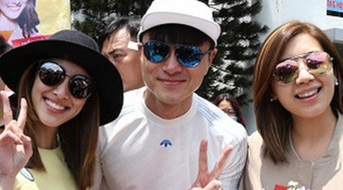 Ba ngôi sao TVB đến TPHCM ngày 20-4
