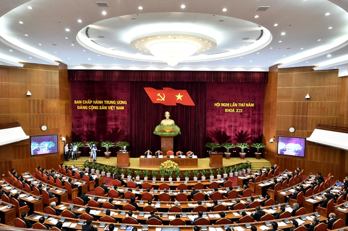 Chủ tịch nước điều hành phiên họp Trung ương kiểm điểm Bộ Chính trị - Ảnh 1.
