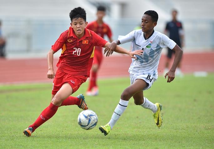 Thắng Úc, U15 Việt Nam vào chung kết giải Đông Nam Á - Ảnh 1.
