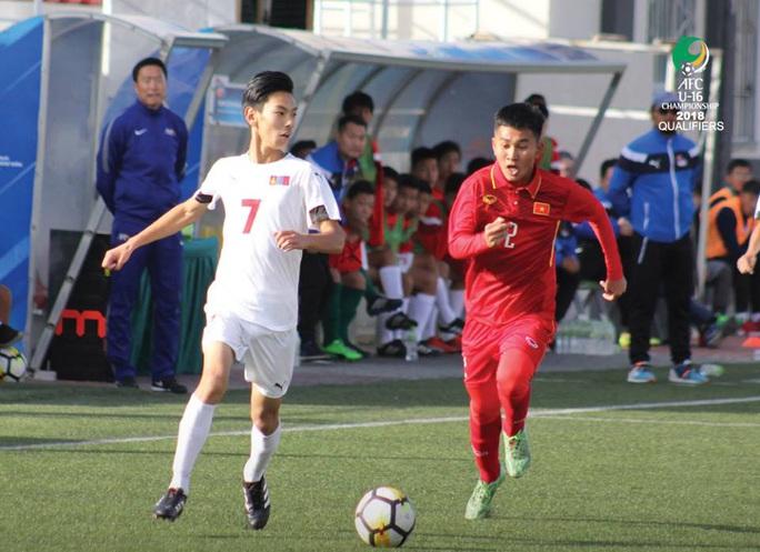 U16 Việt Nam có vé dự VCK U16 châu Á - Ảnh 1.