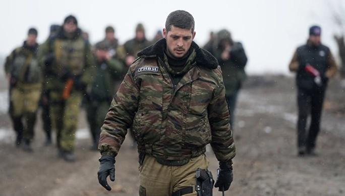 Ông Mikhail Tolstykh, một trong những thủ lĩnh quân sự nổi tiếng của phe ly khai ở Donbass Ảnh: RIA NOVOSTI